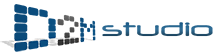 D2M studio logo